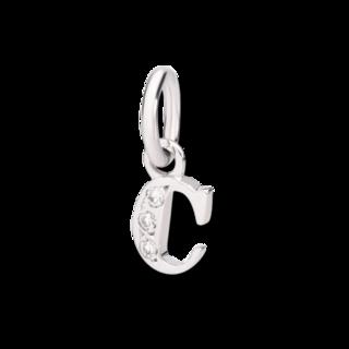 Dodo Charm Buchstabe C (klein) DMC0103-LETCS-DB0O2