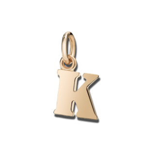 Dodo Charm Buchstabe K (groß) DMB2014-LETKL-0009R