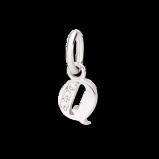 Dodo Charm Buchstabe Q (klein) DMC0117-LETQS-DB0O2
