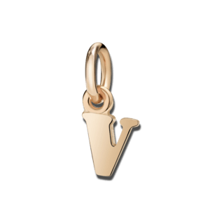 Dodo Charm Buchstabe V (klein) DLET9P/V
