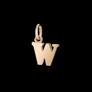 Dodo Charm Buchstabe W (groß) DMB2026-LETWL-0009R