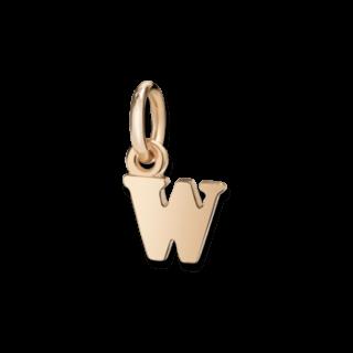 Dodo Charm Buchstabe W (klein) DLET9P/W