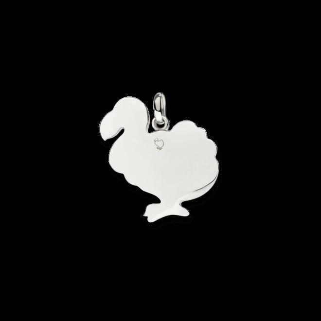 Charm Dodo Dodo aus 925 Sterlingsilber