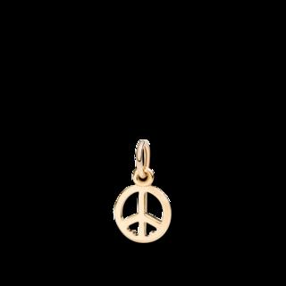 Dodo Anhänger Friedenszeichen, Limitierte Edition DMB8047-PEACS-000OG