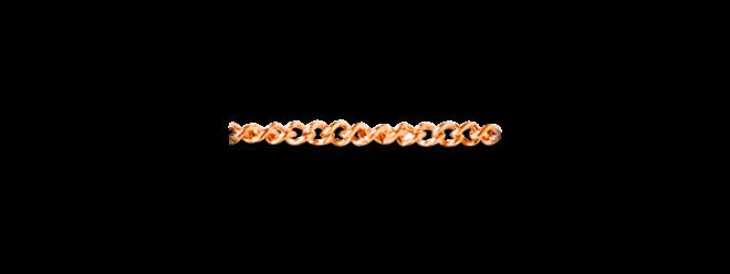 Halskette Dodo aus 375 Roségold