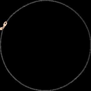 Halskette Dodo aus 925 Sterlingsilber und 375 Roségold