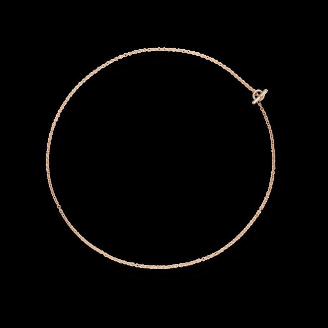 Halskette Dodo aus 375 Roségold und 750 Weißgold
