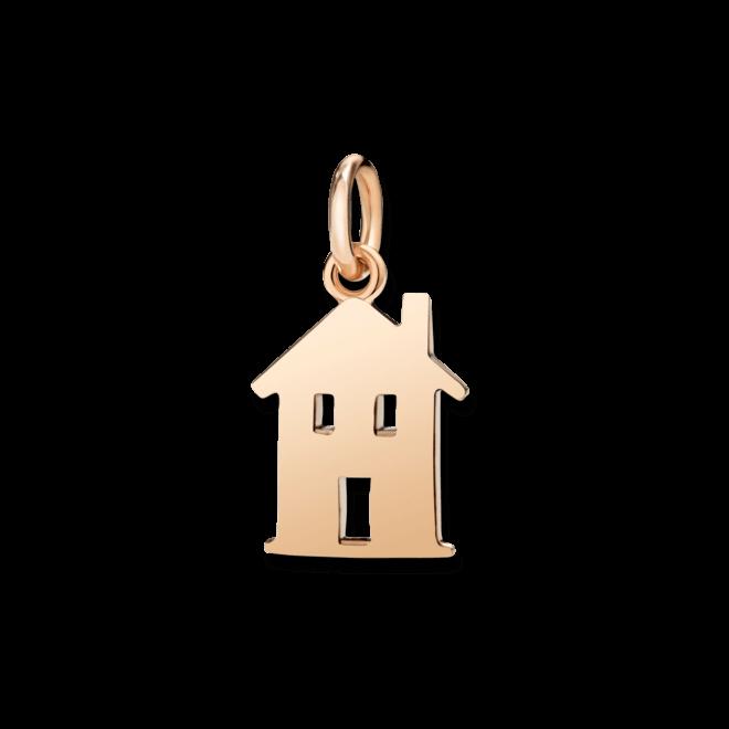 Charm Dodo Haus aus 375 Roségold