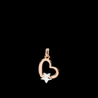 Dodo Anhänger Herz mit Stern DMB9013-SHEAR-0009B