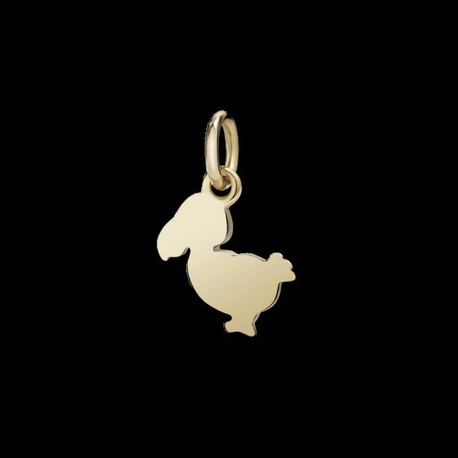 Charm Dodo Junior Dodo (klein) aus 375 Roségold