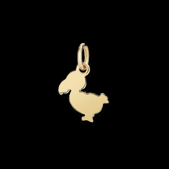 Charm Dodo Junior Dodo (klein) aus 750 Gelbgold