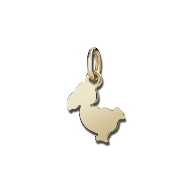 Charm Dodo Junior Dodo (klein) aus 375 Roségold bei Brogle