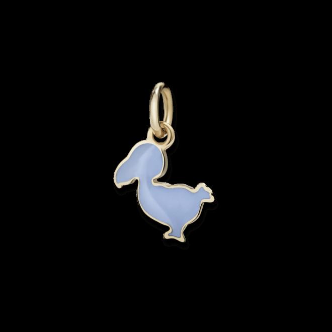 Charm Dodo Junior Dodo (klein) aus 375 Roségold und Emaille bei Brogle