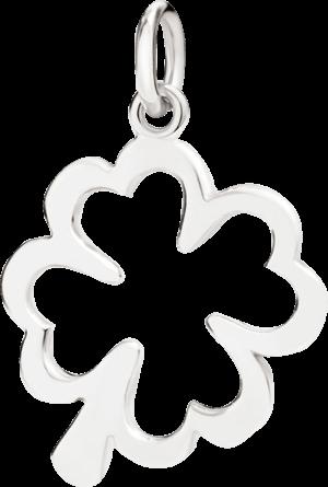 Anhänger Dodo Kleeblatt aus 925 Sterlingsilber