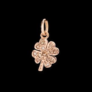 Dodo Charm Kleeblatt (klein) Diamant DMQDP/9/BR