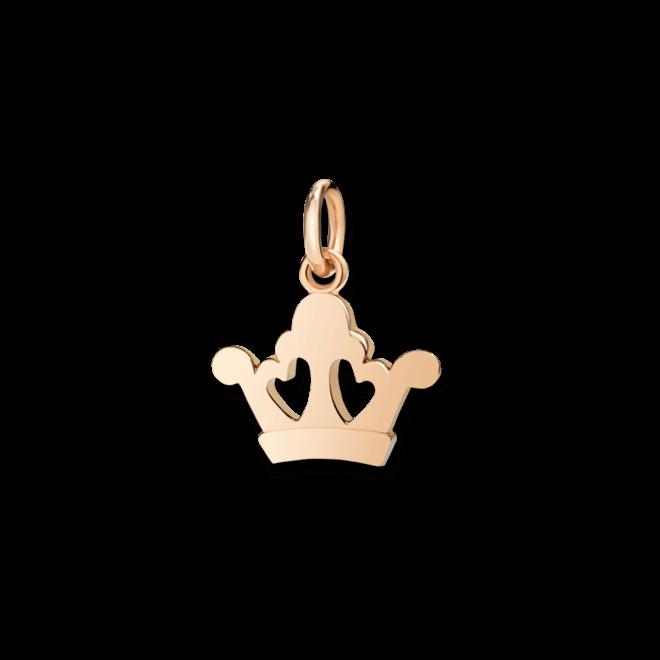 Charm Dodo Königinskrone aus 375 Roségold bei Brogle