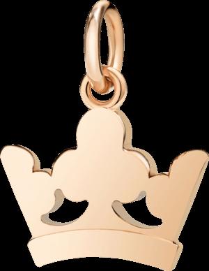 Charm Dodo Königskrone aus 375 Roségold