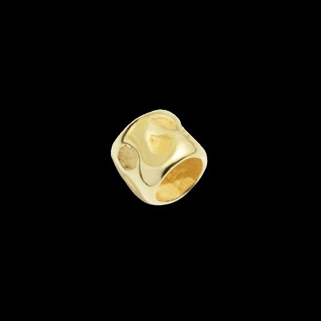 Bead Dodo Korn aus 750 Gelbgold