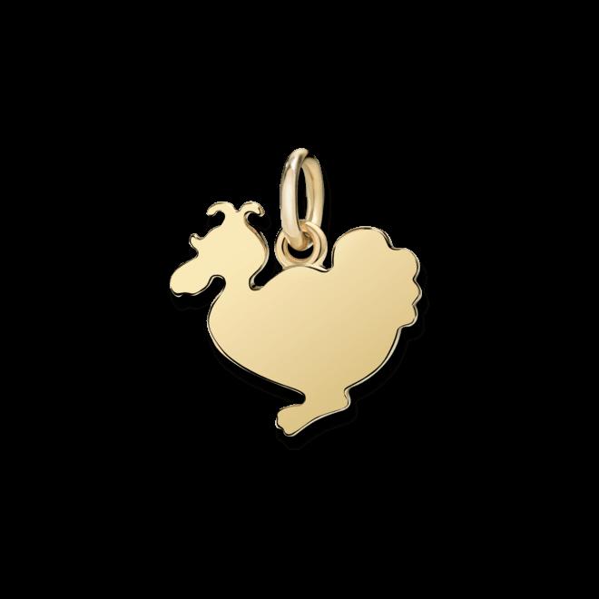 Charm Dodo Lady Dodo (groß) aus 750 Gelbgold