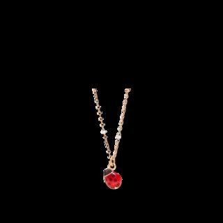 Dodo Halskette mit Anhänger Marienkäfer Mini DCB9001-LADYX-ERO9R