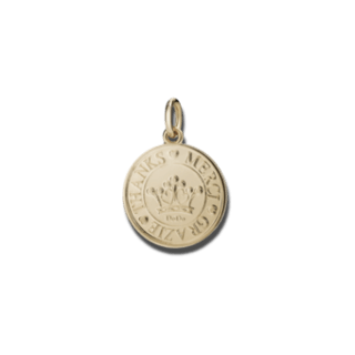 Dodo Charm Münze Grazie DMB5010-COINS-0009R