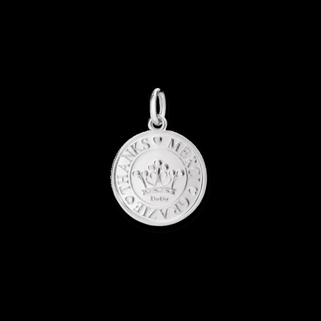 Charm Dodo Münze Grazie aus 925 Sterlingsilber