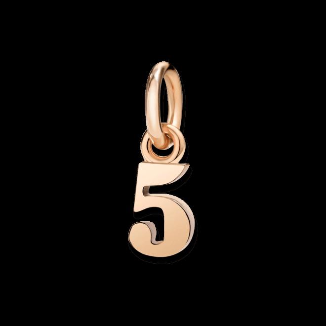 Charm Dodo Nummer 5 (klein) aus 375 Roségold bei Brogle