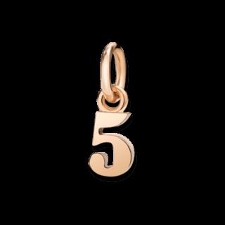 Dodo Charm Nummer 5 (klein) DNUM9P/5