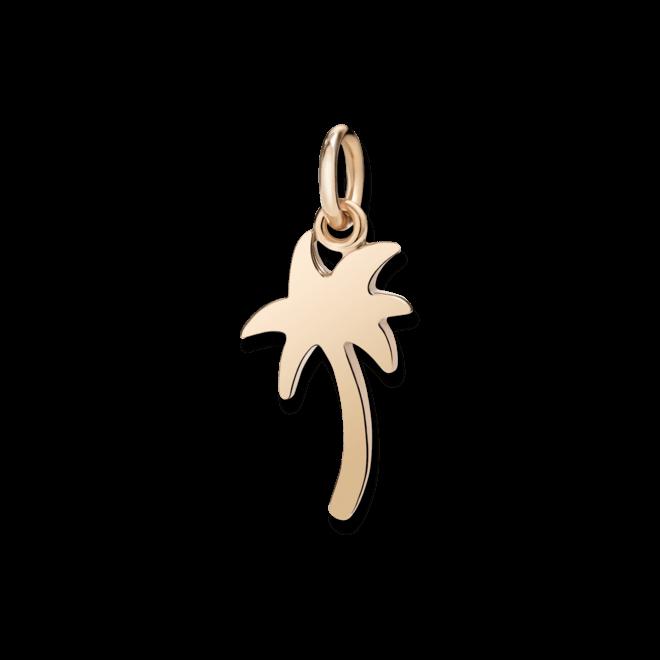 Charm Dodo Palme (klein) aus 375 Roségold