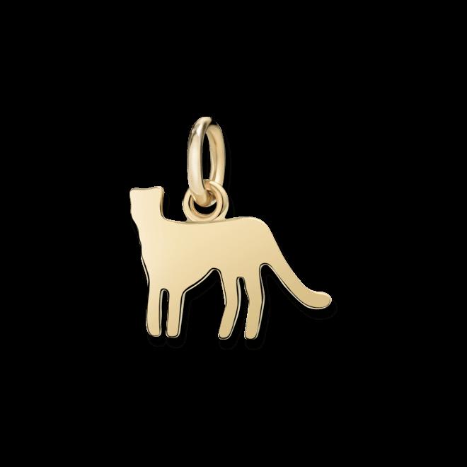 Charm Dodo Panther (klein) aus 750 Gelbgold