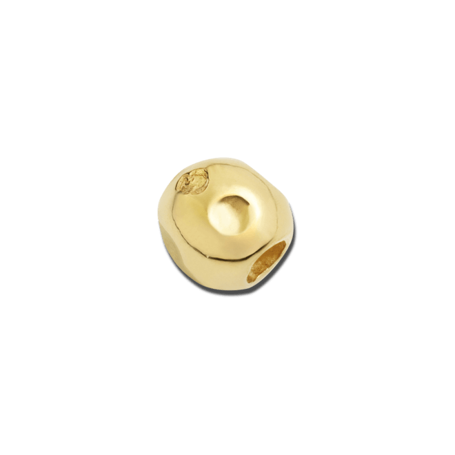 Bead Dodo Pebble aus 750 Gelbgold bei Brogle