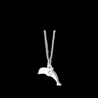 Dodo Halskette mit Anhänger Petit Dodo Delfin DCDE/PP/OB/B
