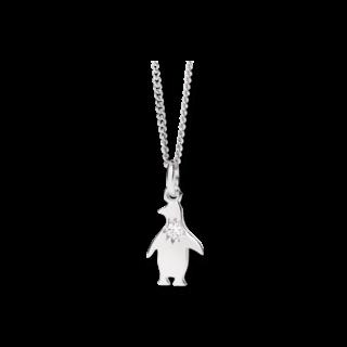 Dodo Halskette mit Anhänger Petit Dodo Pinguin DCPI/PP/OB/B