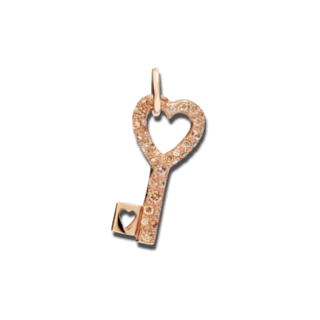 Dodo Charm Schlüssel Diamanten DMCC/9/BR