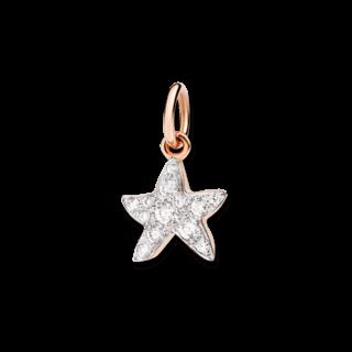 Dodo Charm Seestern (klein) Diamant D3STP/9/B