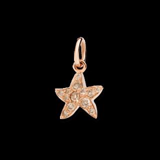 Dodo Charm Seestern (klein) Diamant D3STP/9/BR