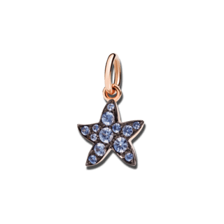 Dodo Charm Seestern (klein) Saphir DMB5003-STARS-0ZA9R