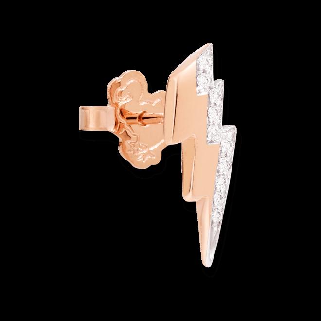 Ohrstecker Dodo Blitz aus 375 Roségold mit mehreren Brillanten (2 x 0,023 Karat) bei Brogle