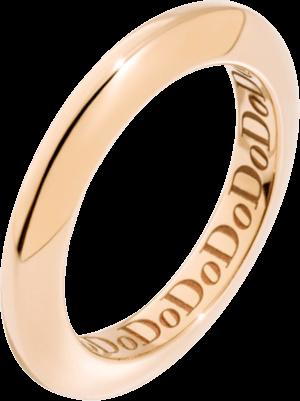 Ring Dodo Disc aus 375 Roségold