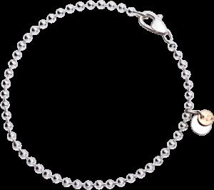 Armband Dodo Everyday aus 925 Sterlingsilber und 375 Roségold