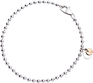 Armband Dodo Everyday aus 925 Sterlingsilber und 375 Roségold