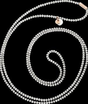 Halskette Dodo Everyday aus 925 Sterlingsilber und 375 Roségold