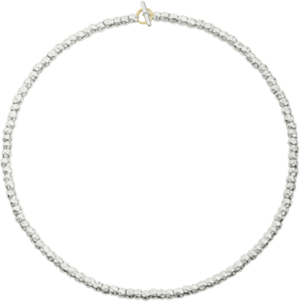 Halskette Dodo Creations aus 925 Sterlingsilber und 750 Gelbgold