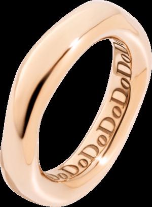 Ring Dodo Irregular aus 375 Roségold