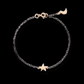 Dodo Armband mit Anhänger Mond und Seestern DB9AN/ST/LU