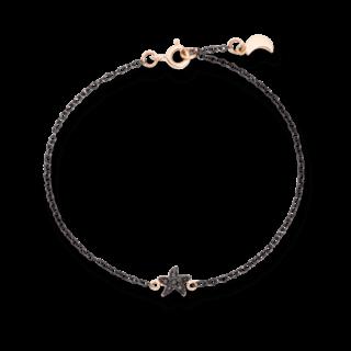 Dodo Armband mit Anhänger Mond und Seestern DB9AN/STBB/LU