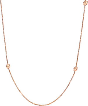 Halskette Dodo Nodo aus 375 Roségold