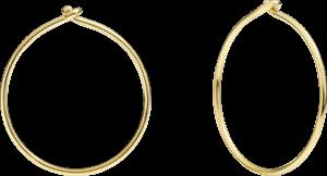 Ohrring Dodo Creations aus 750 Gelbgold
