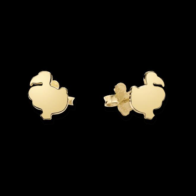 Ohrstecker Dodo Creations aus 750 Gelbgold