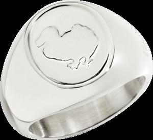 Ring Dodo Sigillo aus 925 Sterlingsilber